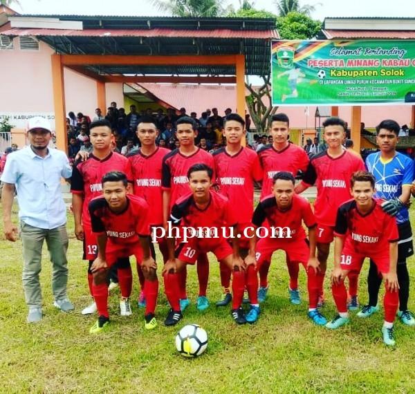 Minangkabau Cup, Payung Sekaki FC Dapat Bonus dari Ketua Pemuda Sirukam